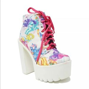 My Little Pony Iron Fist Platform Shoes